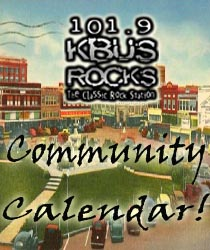 KBUS Community Calendar Paris, TX